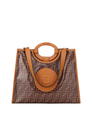 cb1267b7bf2 Fendi Runaway 1974 Medium FF Shopper Tote Bag