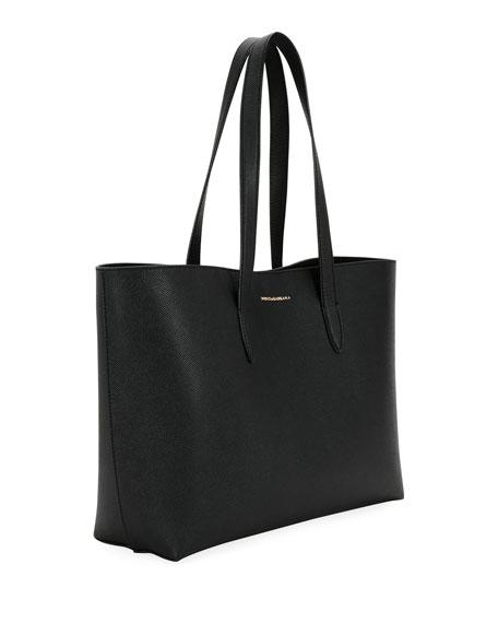 Dolce & Gabbana Dauphine Morbi Stampa Shopping Tote Bag