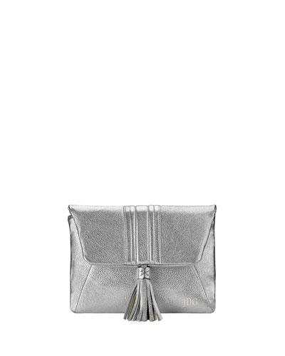 Ava Metallic Clutch Bag