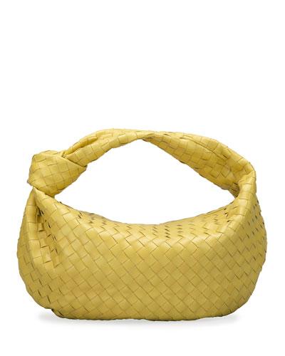 Jodie Small Napa Intrecciato Hobo Bag