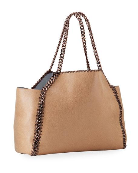 Stella McCartney Falabella Shaggy Deer East-West Tote Bag