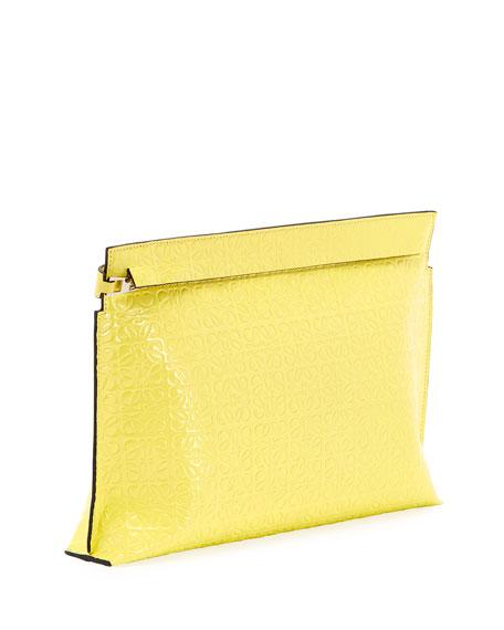 Loewe T Medium Repeat Pouch Clutch Bag