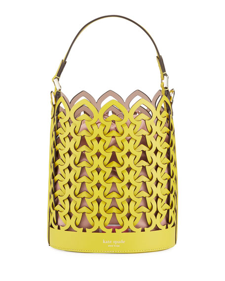 kate spade new york dorie small leather bucket bag