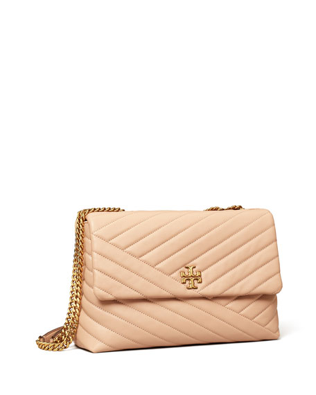 Image 4 of 5: Tory Burch Kira Chevron Quilted Shoulder Bag