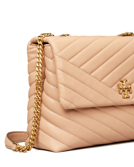 Image 5 of 5: Tory Burch Kira Chevron Quilted Shoulder Bag