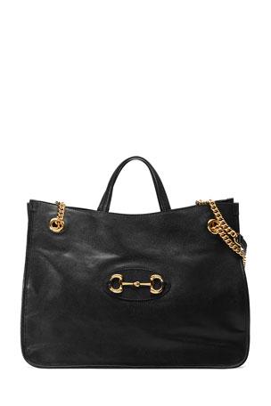 Gucci 1955 Horsebit Large Chain Tote Bag
