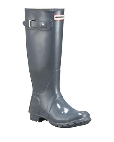 Tall Gloss Boots