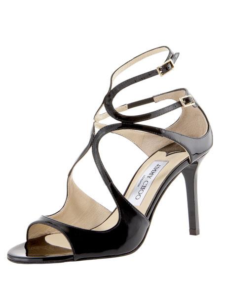 Jimmy ChooIvette Patent Sandal