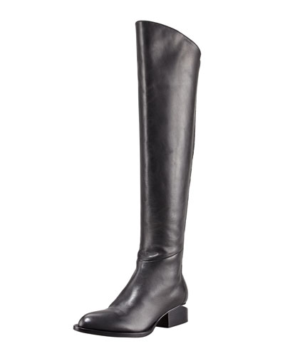 Alexander Wang Sigrid Back-Zip Knee Boot
