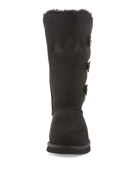 Bailey Button Tall Boot, Black