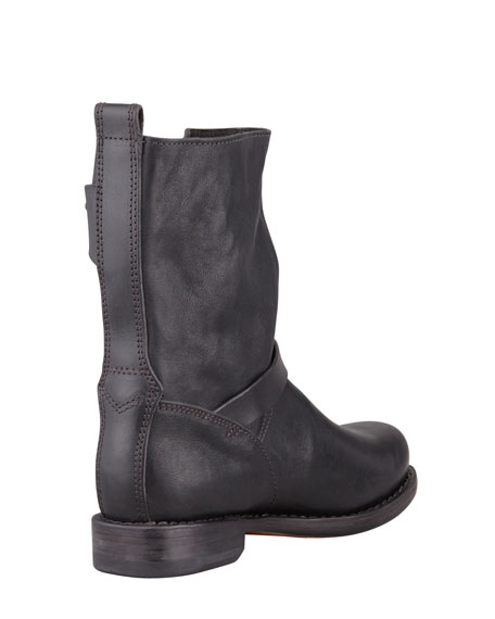 Rag & Bone Moto Leather Boot, Black