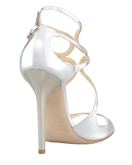 Lang Metallic Strappy Sandal