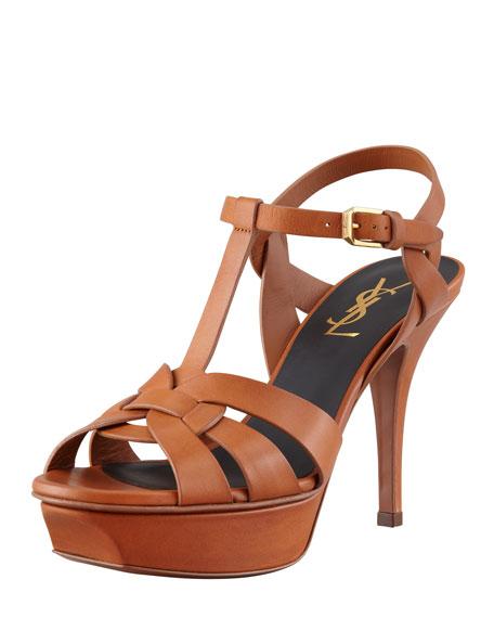 Clearance Shop Offer Tribute 75 sandals - Brown Saint Laurent 2018 Sale Online RkXXpRDFo4