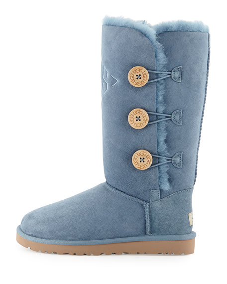 Bailey Button Tall Boot, Dolphin Blue