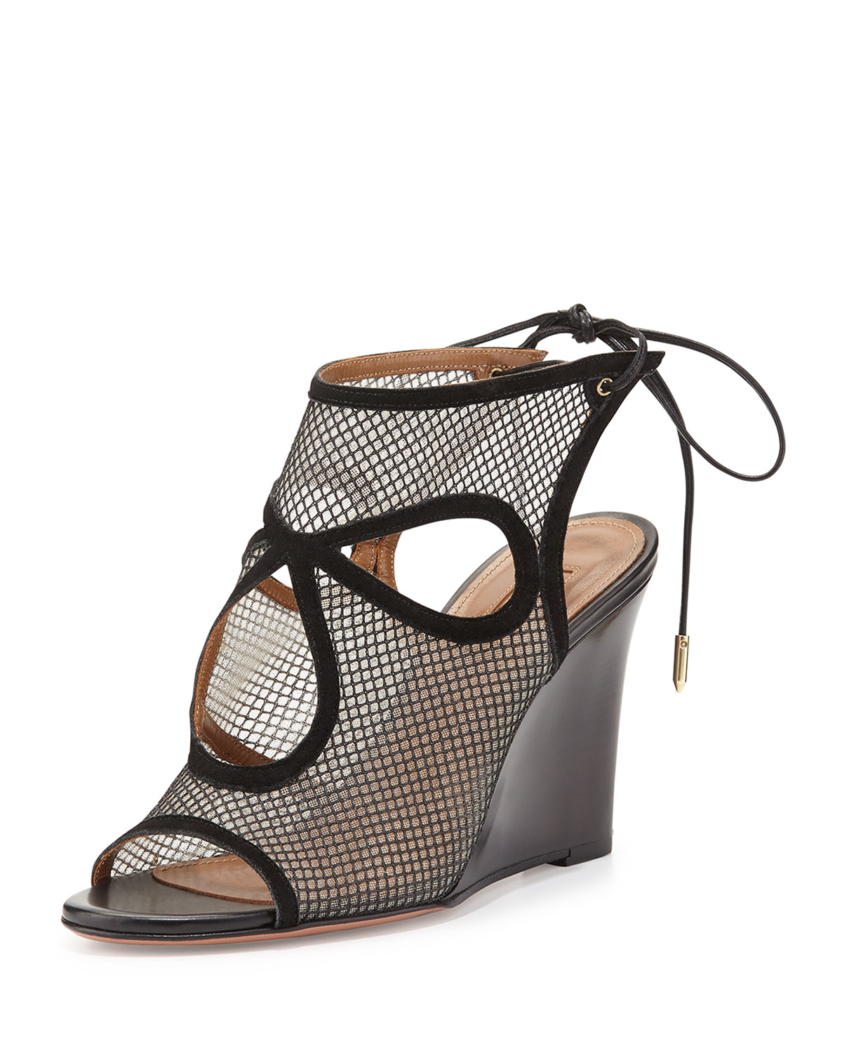 Aquazzura Sexy Thing Mesh Sandals sale limited edition free shipping reliable shipping outlet store online free shipping online get to buy cheap price v8iznOrJ