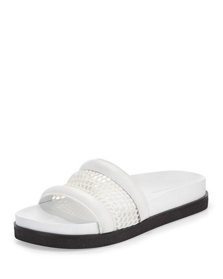 Alexander Wang Jac Mesh Sport Sandal, White