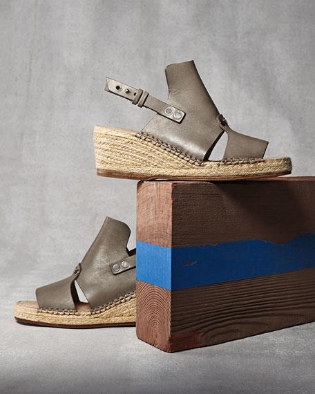 Sayre Slingback Espadrille Sandal, Taupe