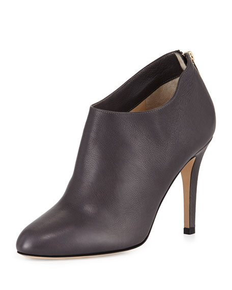 Jimmy Choo Mendez Grained Leather Bootie, Mist
