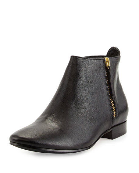 Belmont Leather Bootie, Black