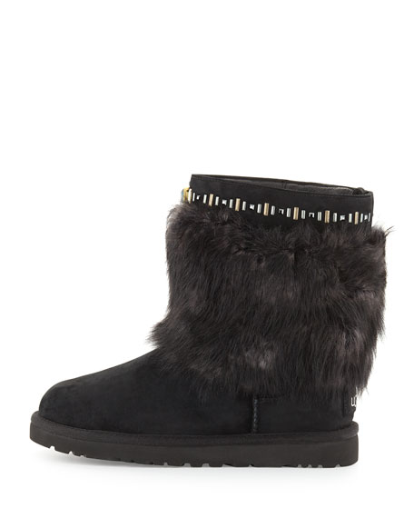 Vilet Crystal Toscana Boot, Black