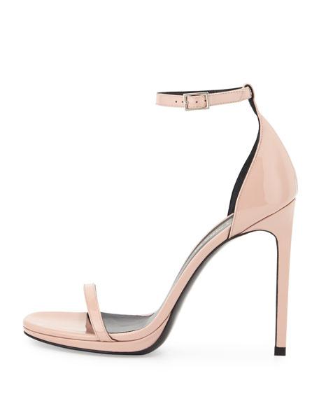 Jane Patent Sandal, Rose Clair