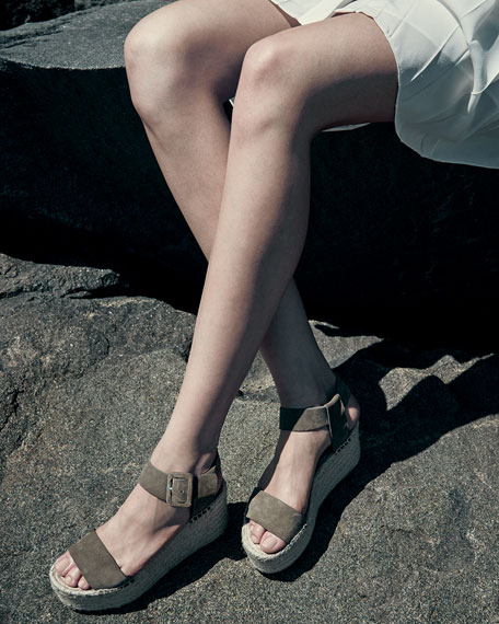 9304553a23e Vince Abby Suede Espadrille Sandal   Abby Leather Espadrille Sandal