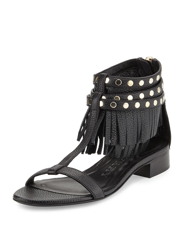 Burberry Studded Fringe Sandals clearance wiki tnewaCbK
