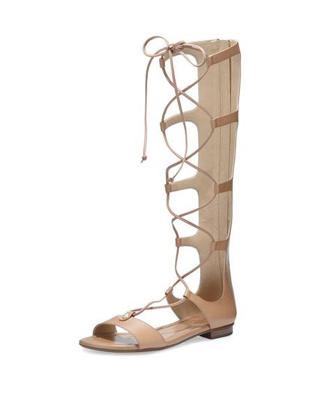 MICHAEL Michael Kors Sofia Tall Flat Gladiator Sandal,