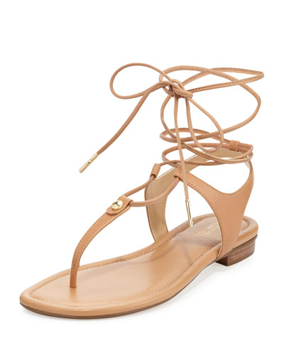 bf7a02e4b MICHAEL Michael Kors Sofia Gladiator Flat Thong Sandal
