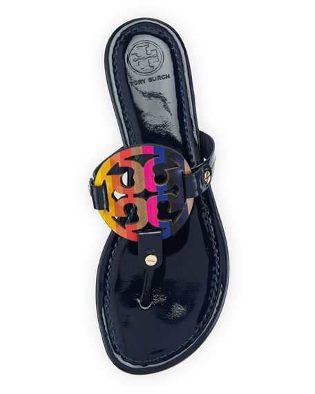 Miller Rainbow Logo Sandal, Royal Navy