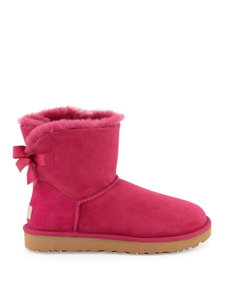 Mini Bailey Bow II Shearling Fur Boots