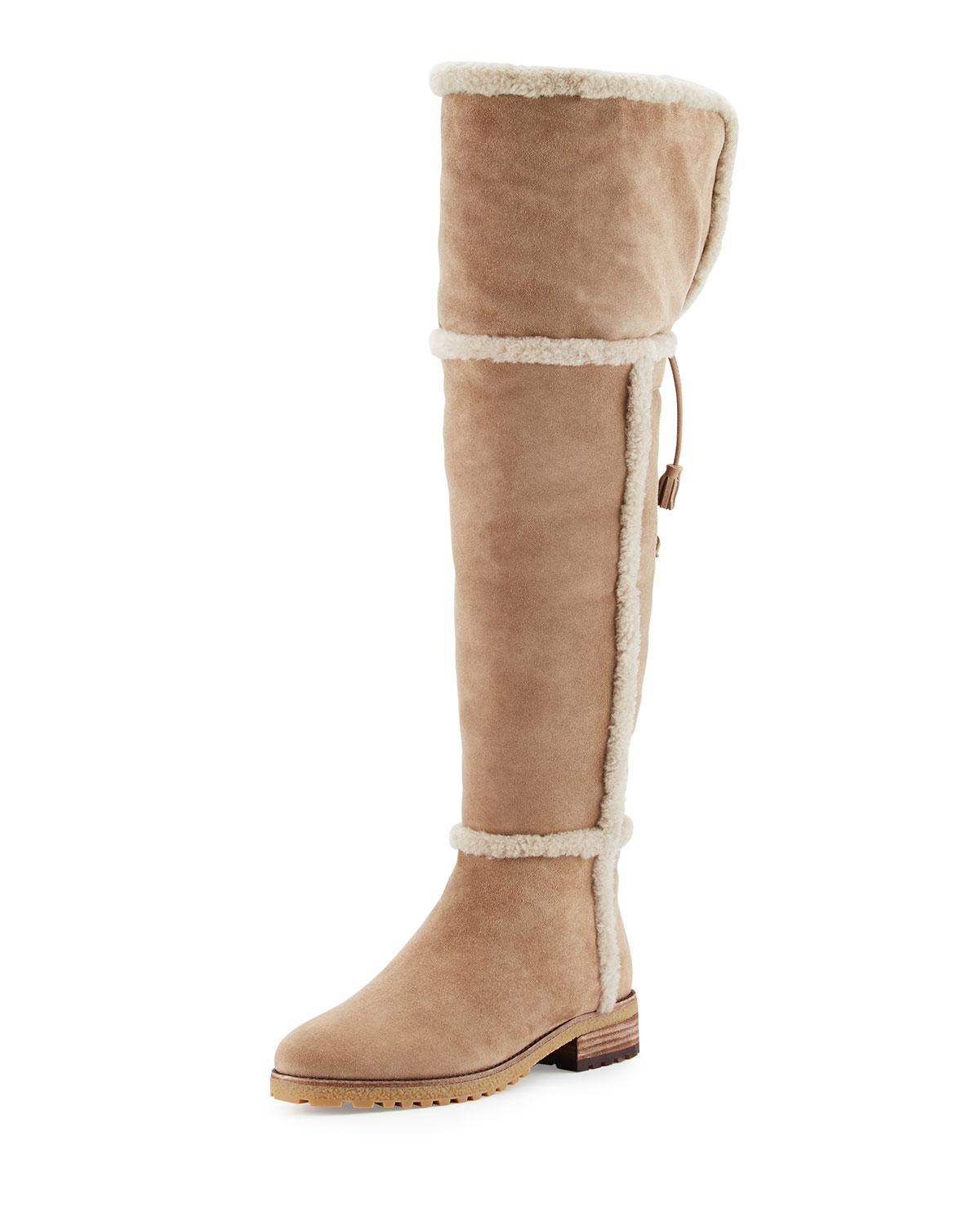 d29b0afd5a7 Frye Tamara Shearling Over-The-Knee Boot