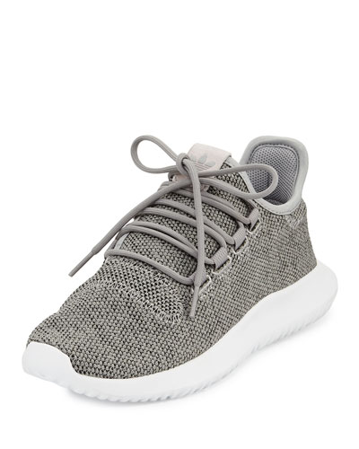 Tubular Shadow Knit Sneaker, Gray/Running White