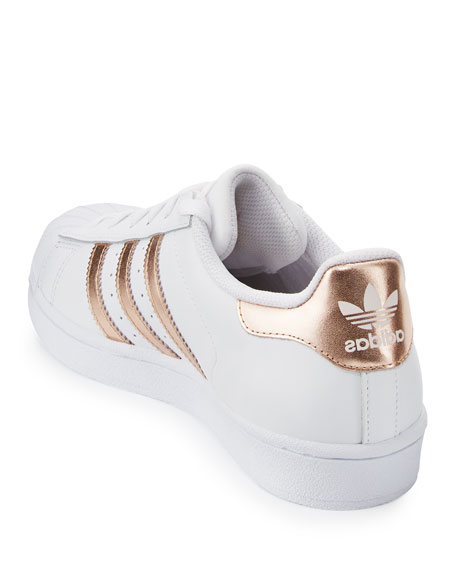 new style fd0fd bed0a coupon code for adidas superstar original white copper rose ...
