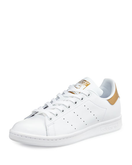 Adidas Stan Smith Fashion Sneaker, White/Tech Rust
