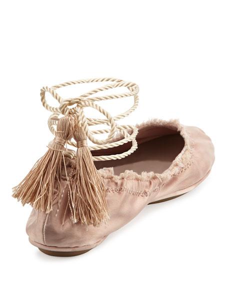 Bandele Tassel Ballet Flats