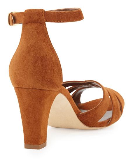 Unista Strappy Suede 70mm Sandal