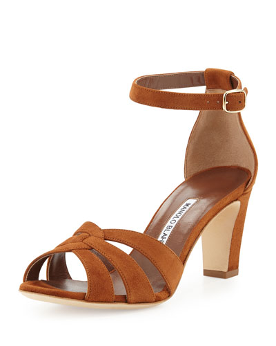 Unista Strappy Suede 70mm Sandal