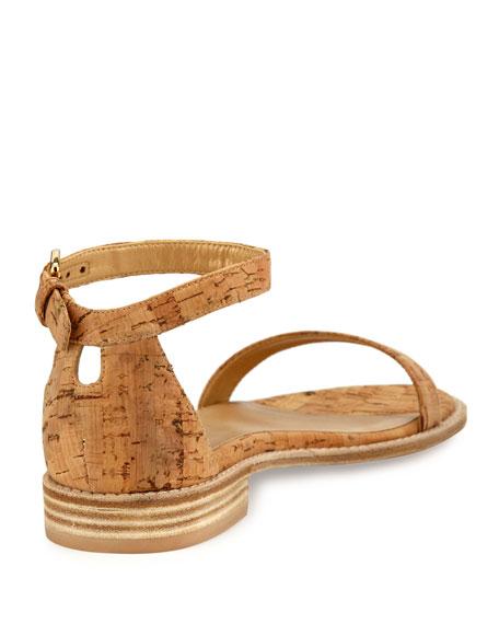 Nudistflat Cork Ankle-Wrap Sandal
