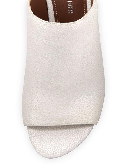 Decoslinky Patent Slingback Wedge Sandal