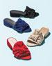 Giftwrap Suede Bow Slide Sandal