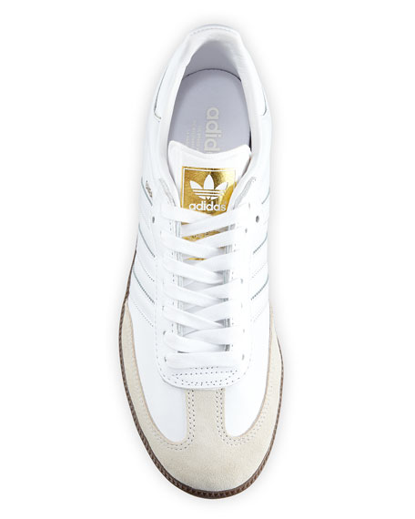 Samba Classic Leather Sneaker, White