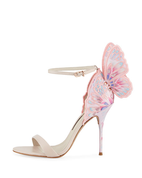 Chiara Embroidered Butterfly Sandal