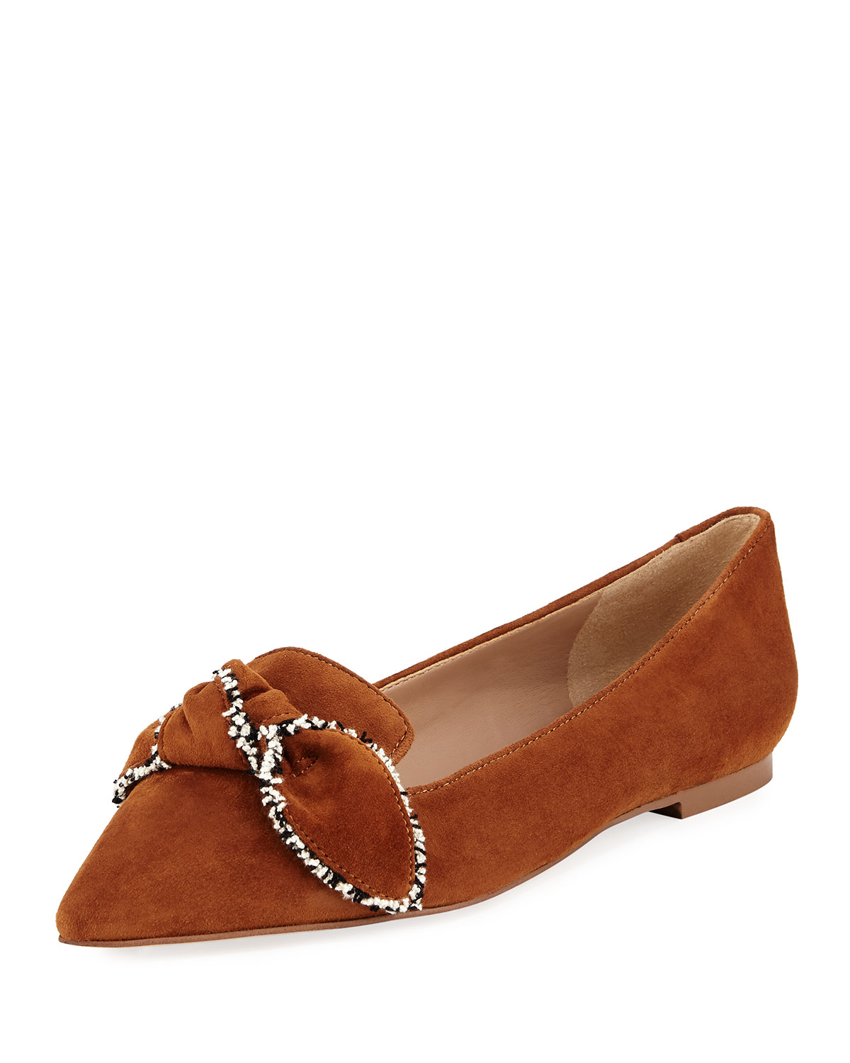 aae2e601e Sam Edelman Rochester Pointed-Toe Loafer Flat with Bow