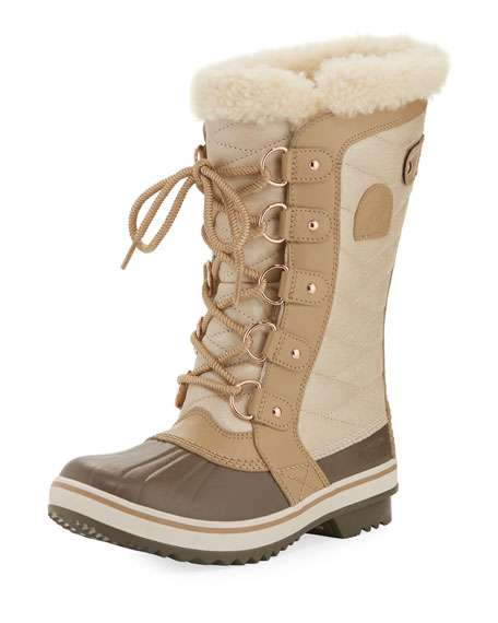 Sorel Tofino II Holiday Boot with Faux-Fur Collar