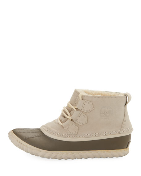 Out N About Shearling Ankle Boot, Ancient Fossil