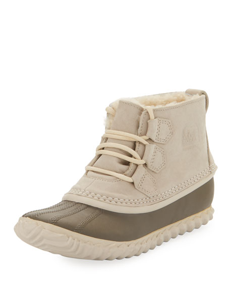 Sorel Out N About Shearling Ankle Boot, Ancient