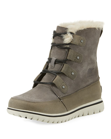 Sorel Cozy Joan Waterproof Faux-Fur Bootie