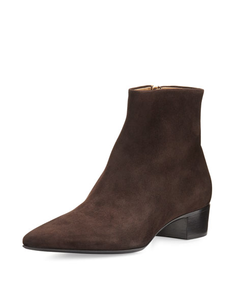THE ROW F17 35MM AMBRA HEEL BOOTIE
