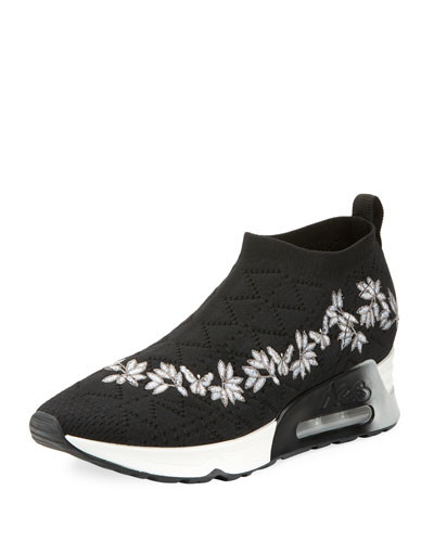 Lolita Embroidered Slip-On Sneaker